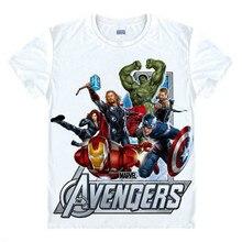 Мстители Футболка Ironman Капитан Америка Железный человек Hawkeye Черный вдова Marvel Футболки Super hero Заказ 3D Печати Подарок тройник