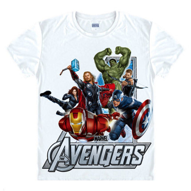 T Avengers Men Captain Iron Ironman Black America Hawkeye Shirt Pn0wkO