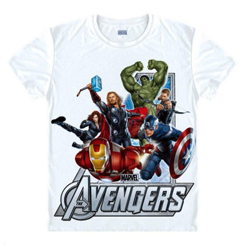 Avengers T Shirt Kapitan Ameryka Ironman Żelaza mężczyźni Hawkeye Czarny Marvel wdowa T-shirt Super hero Custom Made 3D Druku Prezent Tee