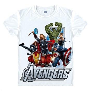 Avengers T Shirt Ironman Captain America Iron men Hawkeye Black Widow Hulk Marvel T-shirt Super hero Custom 3D Print Gift Tee