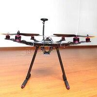 DIY S550 Hexacopter APM2.8 FC NEO 7M gps HP2212 920KV BL двигателя Simonk 30A ESC