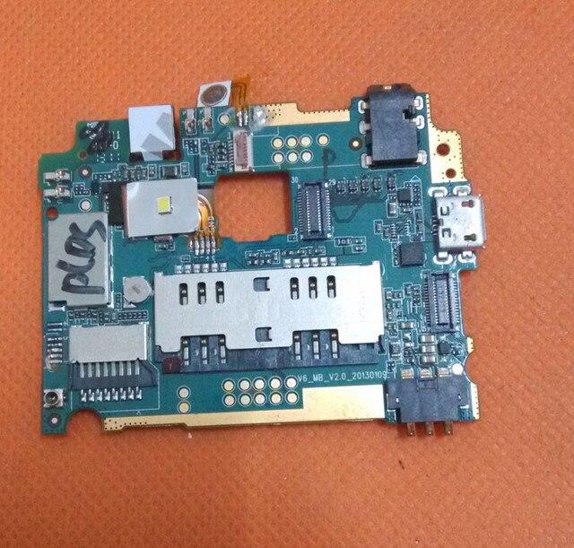 Используется Оригинальная плата 1 Г RAM + 4 Г ROM Материнская Плата для МИЗ Z1 MTK6589 Четырехъядерных Процессоров 4.5 дюйма QHD 960x540 бесплатная доставка