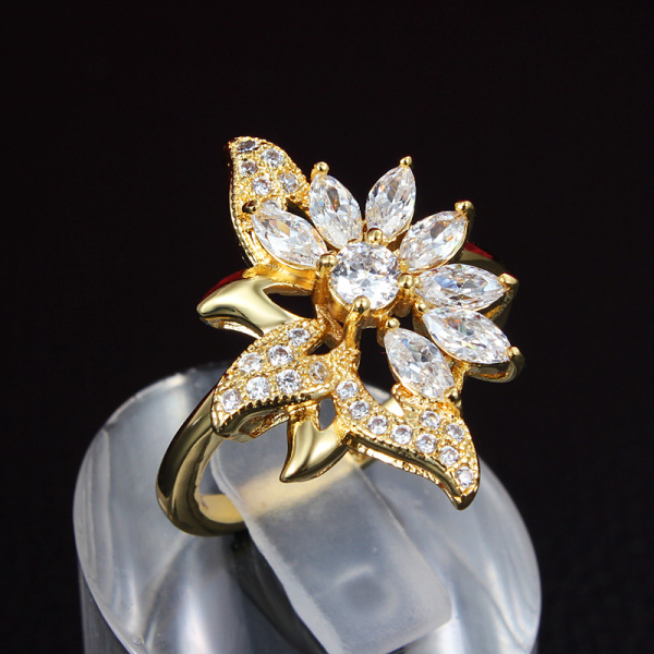 Aliexpress.com : Buy Incomplete Beauty Flower Ring Fashion