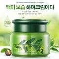 50g Cuidado de la piel mejora la piel seca problema de falta de agua Suavemente hidratar Hidratante crema hidratante de agua de té Verde