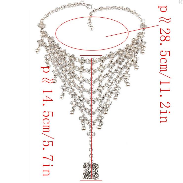 Vintage ασημένιο κοίλο λουλούδι Beachy Chic - Κοσμήματα μόδας - Φωτογραφία 6