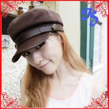 Fashion Summer Women Men Sports Cap High Quality Classic Army Plain Vintage Hat Cadet Military Cap