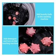 Casa esterilização anti-estático anti-nó máquina de lavar roupa bola flutuante pet pele coletor maquina de lavar roupa bola