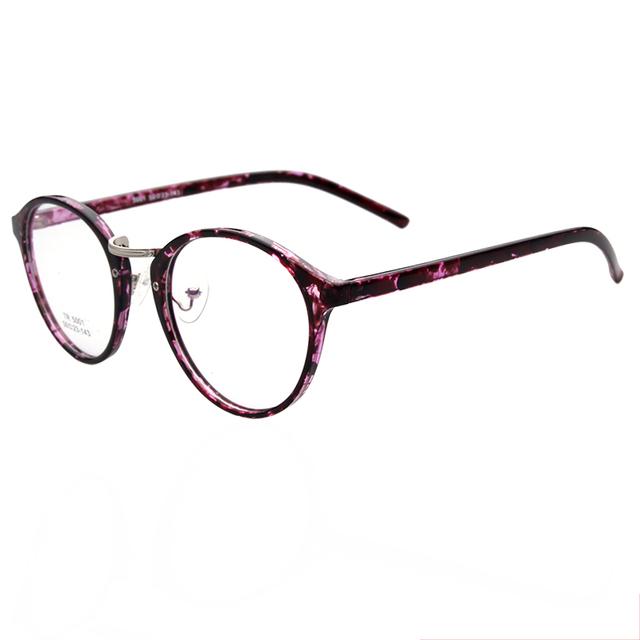 Women Leopard Optical Glasses TR90 Frame Retro Style