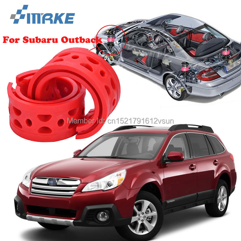 smRKE For Subaru Outback High quality Front Rear Car Auto Shock Absorber Spring Bumper Power Cushion Buffer in Shock Absorber Parts from Automobiles Motorcycles