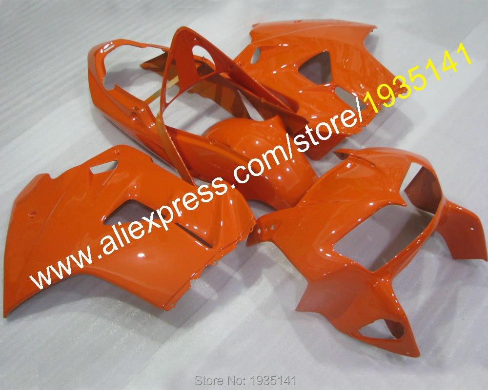Offres spéciales, Kit Carrosserie Pour Honda VFR800 98 99 00 01 VFR 800 VFR800RR 1998 1999 2000 2001 VFR 800RR pleine orange Moto Carénage