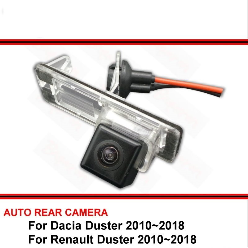 For Dacia Renault Duster 2009 ~ 2018 Night Vision Rear View Camera Reversing Camera Car Back Up Camera HD CCD Vehicle