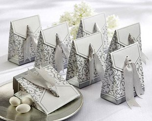 free shipping 250pcs/lot paper box wedding gift box  XTH-029