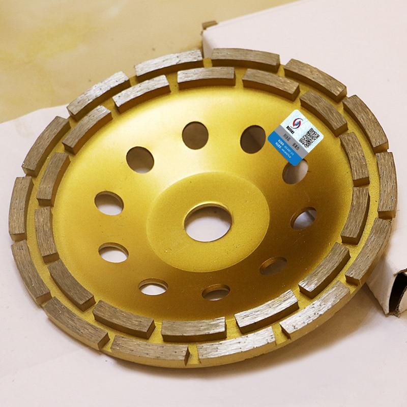 7 colių dvigubos eilės deimantinio šlifavimo disko diskai, 180 mm - Elektriniai įrankiai - Nuotrauka 6