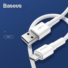 Baseus 1m Usb Cable For iPhone 6 6s 7 7s X/Xs/XR MAX 3A Type-C and 2.4A Micro Usb Cable Charger For Samsung Xiaomi Redmi Huawei