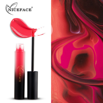 NEW NICEFACE 12 Colors A Lot Velvet Matte Liquid Lipstick Waterproof Lip Gloss Long-lasting Paint Beauty Pigment Lipgloss Makeup