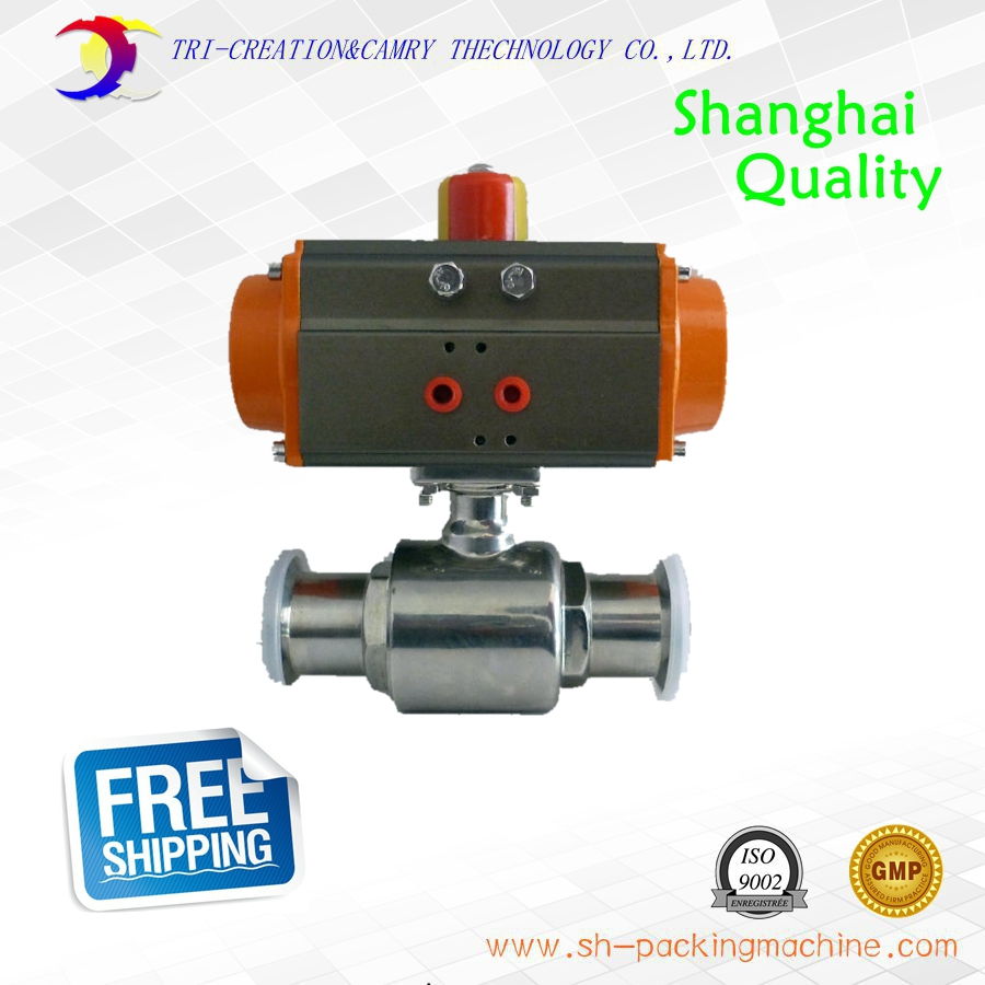 1 3/4 DN40 sanitary stainless steel ball valve,2 way 304 quick-install/food grade pneumatic valve_double acting straight valve 3 4 dn15 sanitary stainless steel ball valve 2 way 316 quick install food grade pneumatic valve double acting straight way