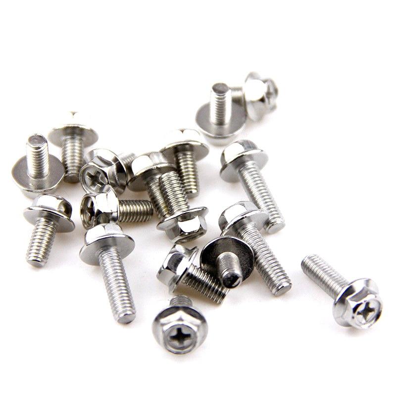 Brighton-Best International 847605 Hex Medium-Strength Grade 5 Head Screw Pack of 10 External Hex Steel 7//8-9 Thread Size 6-1//2 Long 7//8-9 Thread Size Pack of 10 6-1//2 Long