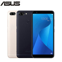 New ASUS ZenFone 4S Max Plus M1 ZB570TL X018DC 4G LTE Mobile Phone 5.7 4GB 64GB 18:9 full screen 4130mAh Pegasus Android Phone