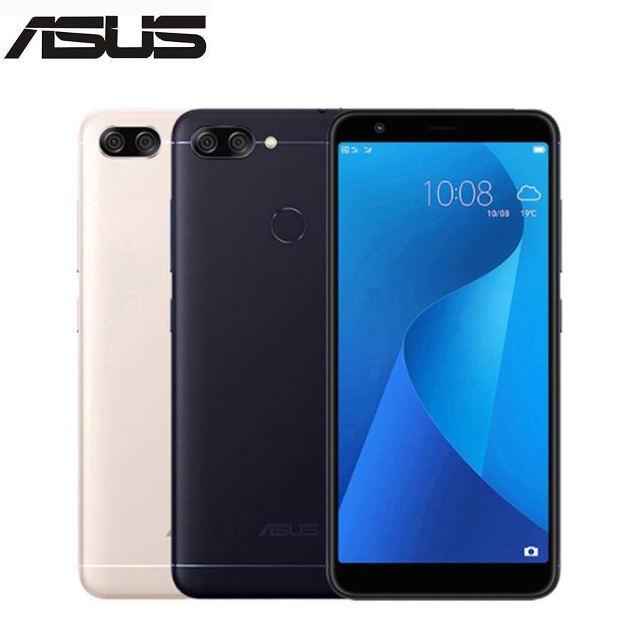 Nouveau asus ZenFone 4 S Max Plus M1 ZB570TL X018DC 4G LTE téléphone Mobile 5.7 4 GB 64 GB 18:9 plein écran 4130 mAh téléphone Android