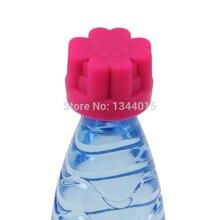 5 unids/lote Abridor Abridor de Botellas de Agua Mineral de Botella de Silicona de Creative Home Gadgets Herramientas M1672