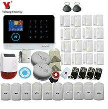 YobangSecurity WiFi 3G WCDMA Home Security Alarme do Assaltante Sistema de Segurança Ao Ar Livre À Prova D Água Solar Siren Inglês Idioma Holandês