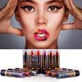 New Waterproof Long Lasting Lip Gloss Color lipstickes creative double color lipstick Gradient lipstick