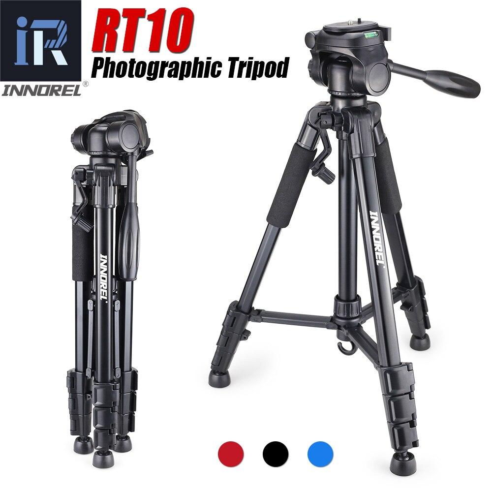 RT10 Aluminium Mini Portable Tripod For Digital DSLR Camera Mirrorless Light Compact Travel Stand Pan Head Cheaper Than Q111