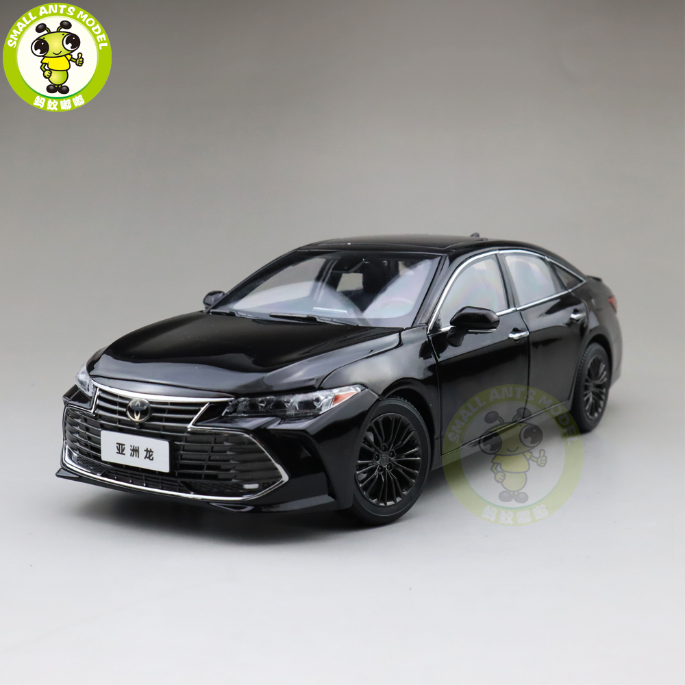 1/18 Avalon Diecast Car Model Toys Kids Boy Girl Gifts Collection Black
