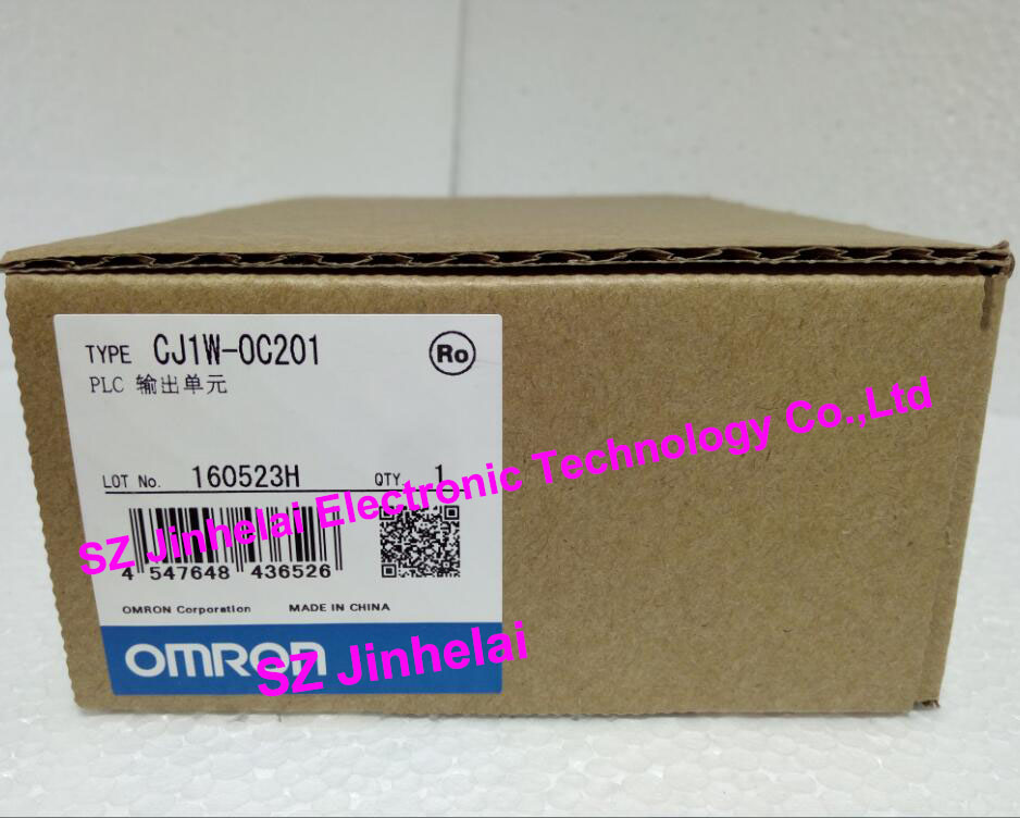 New and original CJ1W-OC201 OMRON PLC output unit new and original cj1w crm21 omron plc componet unit