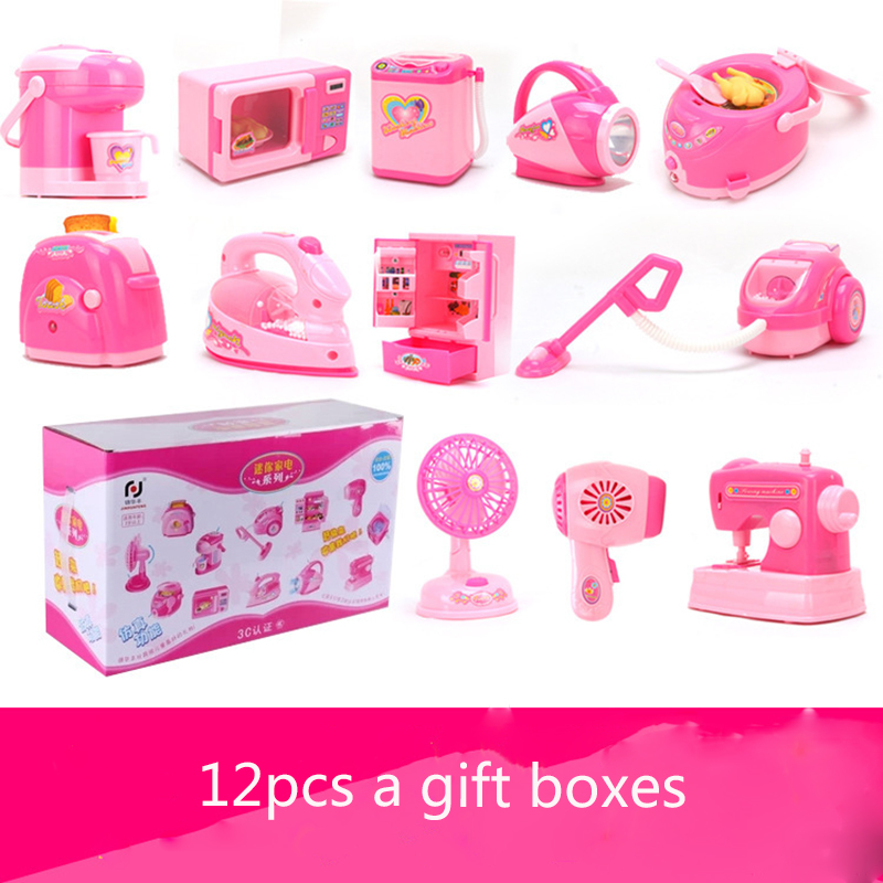 Furniture toy sets pretend Play toys Electric Music Furniture Accessories Simulation appliances series Toy For girls gifts newFurniture toy sets pretend Play toys Electric Music Furniture Accessories Simulation appliances series Toy For girls gifts new