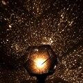 Night Light Bed Lâmpada de Iluminação Casa lâmpada de poupança de energia Da Lâmpada sensor de Luz Melhor para Presentes Romântico Da Luz Da Estrela Projetor