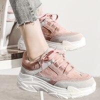 HEE GRAND/Новые весенние кроссовки, женские туфли на плоской платформе, на шнуровке, с круглым носком, на толстой мягкой подошве, Женская Повседн...