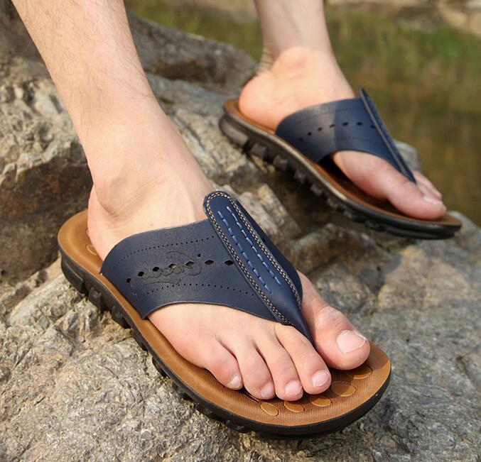 font b Men s b font font b sandals b font and slippers 2016 new