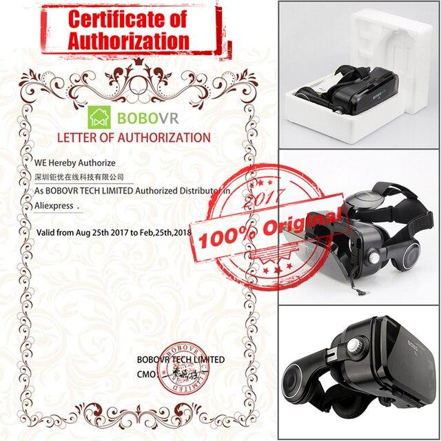 Virtual Reality goggle 3D VR Glasses Original BOBOVR Z4/ bobo vr Z4 Mini google cardboard VR Box 2.0 For 4.0-6.0 inch smartphone 5