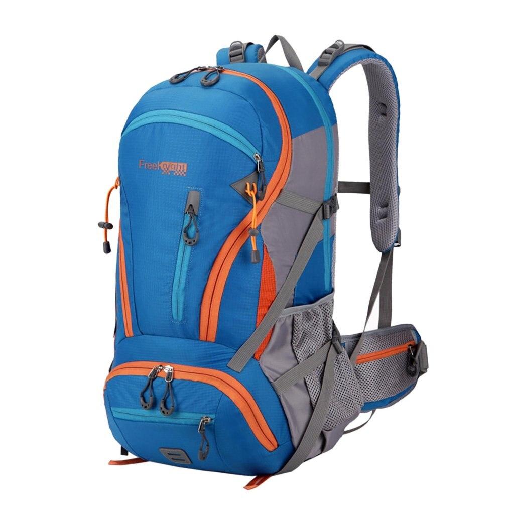 Sac à dos d'alpinisme extérieur de grande capacité de 45L conception de Suspension d'air randonnée Camping voyage Trekking sacs à bandoulière imperméables
