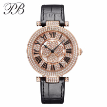 PB Brand Watches Women Luxury Silicon band watch Austria crystal Watch fashion Ladies Wristwatch Watch MOP dial HL606 цена