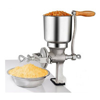 Classical kitchen tool manual poppy mill grain seeds flour mill hand operated nut grinder and spice grinder