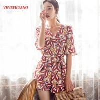 2018 Summerach Women dress Slim Thailand Amorous Feelings Seaside Resort Bali Dresses Design And Color L0882