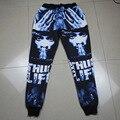 Free ship fashion men/women joggers pants 3D print Tupac 2Pac Character   sweatpants hip hop trousers