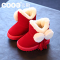New 2016 winter child boots snow boots children thicken warm thickening child non - slip children wear shoes