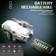 RC Helicopter D2 Mini Drones with Camera HD 0.3MP Foldable Fixed Height Quadcopter 3.7V 500mAh Battery VS E61HW S9HW