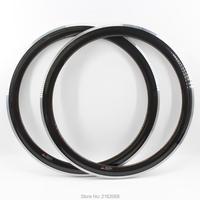 2pcs Newest 700C 50mm Fixed Gear Track Road Bike 3K Twill Carbon Bicycle Wheels Clincher Rim