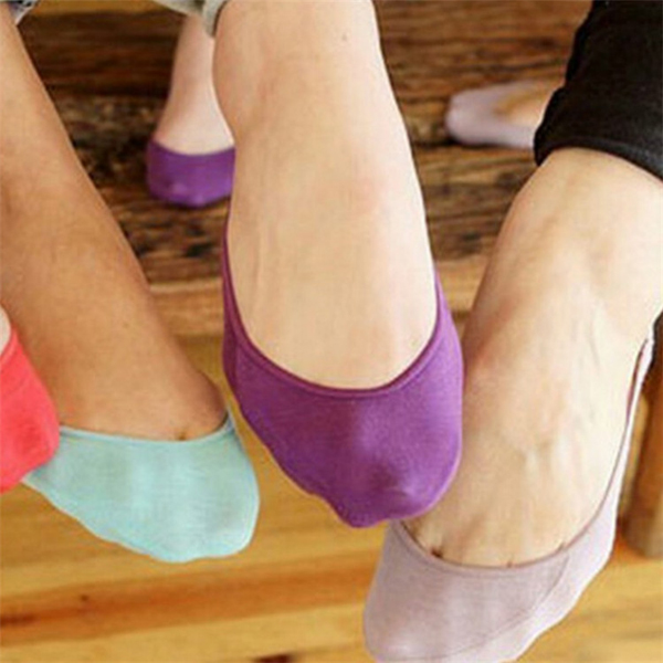 11 pairs of ladies socks womens no show boat toe socks slippers full cotton  slippers low socks f8465f5026