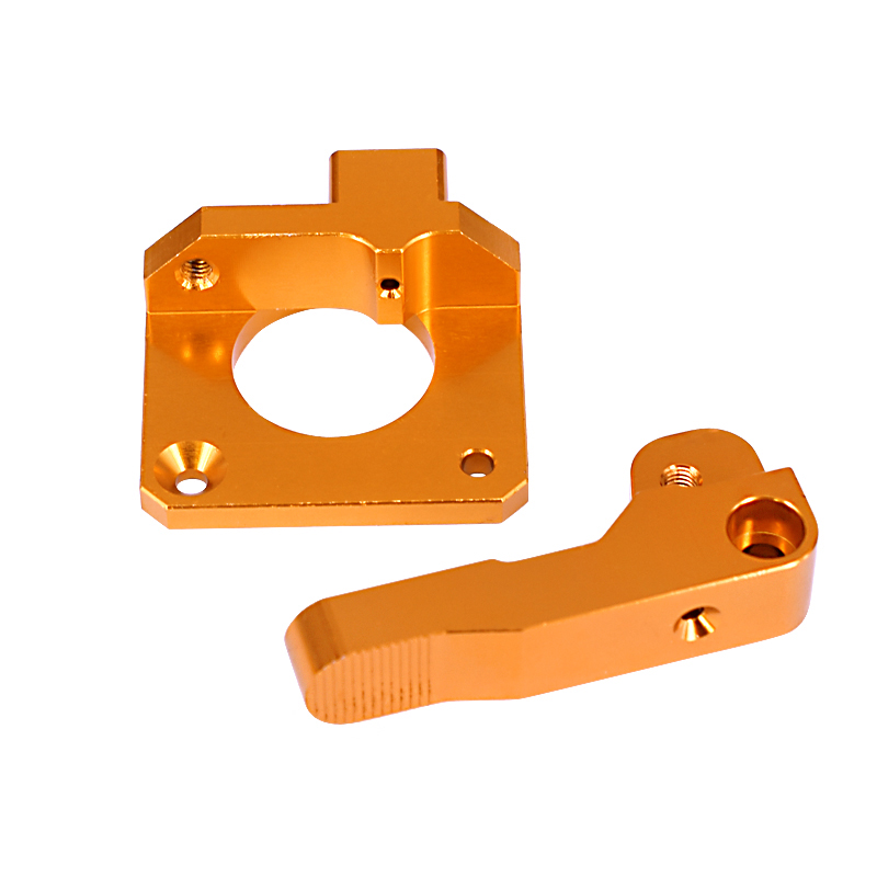 Image 3 - 15Pcs/Set 3D Printer Extruder Cr10 Extruder Remote Extruded Metal Block Oxidized Sandblasting Fittings-in 3D Printer Parts & Accessories from Computer & Office