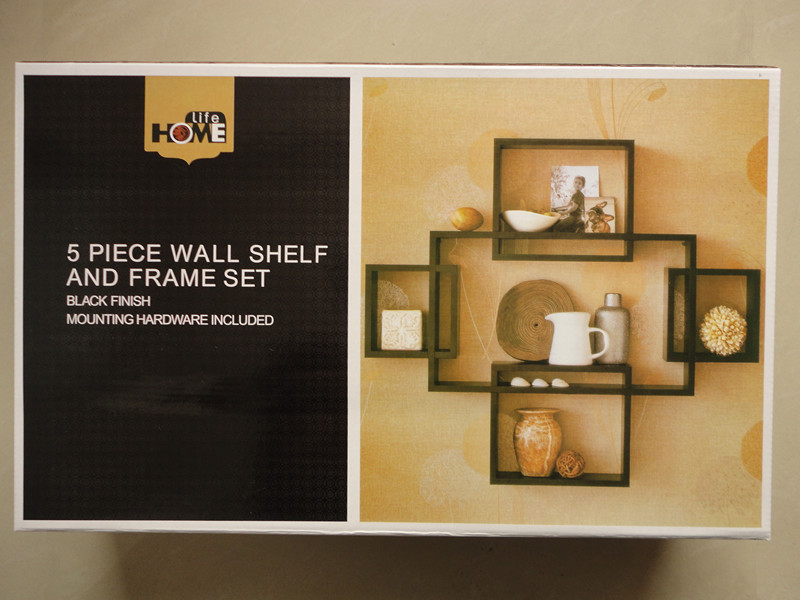 One Piece Set Five Piece Closet Diaphragn Wall Mount Home Decoration Wall  Shelf And Frame Set Wall Hanging In Plaques U0026 Signs From Home U0026 Garden On  ...