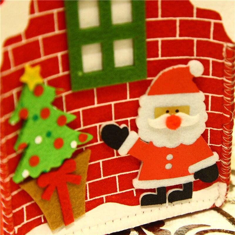Neu! weihnachten Weihnachtsmann Haus Süßigkeiten Verpackung Geschenk ...