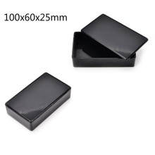 100x60x25mm Waterproof Black DIY Housing Instrument Case Plastic Electronic Project Box Electric Supplies