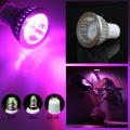 5pcs 5w LED GU10 Hydroponic Plant flowers vegatables Greens Spotlight LED Grow Lights plant growing lamp