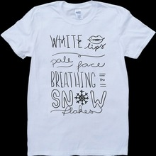 9fe2bef5a8 Ed Sheeran Team Lyrics Mens White Custom Made T-Shirt Funny Crew Neck  Short-Sleeve