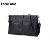 2016 Women S Genuine Leather Messenger Bags Fashion Vintage Small Real Leather Handbag New Summer Casual